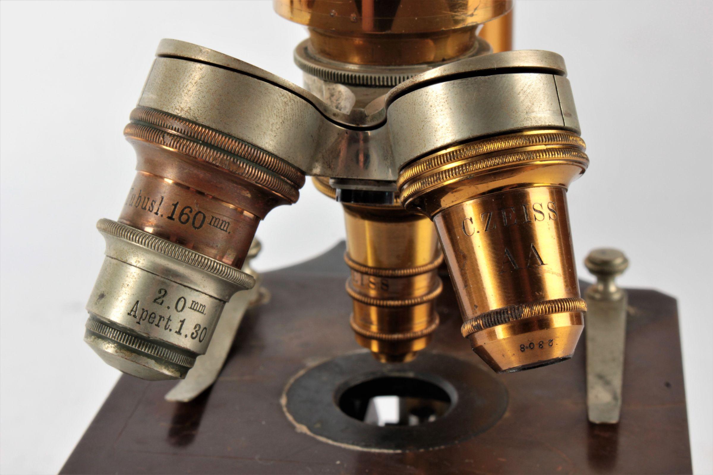 Mikroskop carl zeiss jena aukce výtvarné umění a