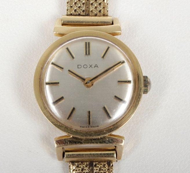 c356f6865 Zlaté hodinky Doxa   Hodinky   Starožitnosti - Galerie USTAR
