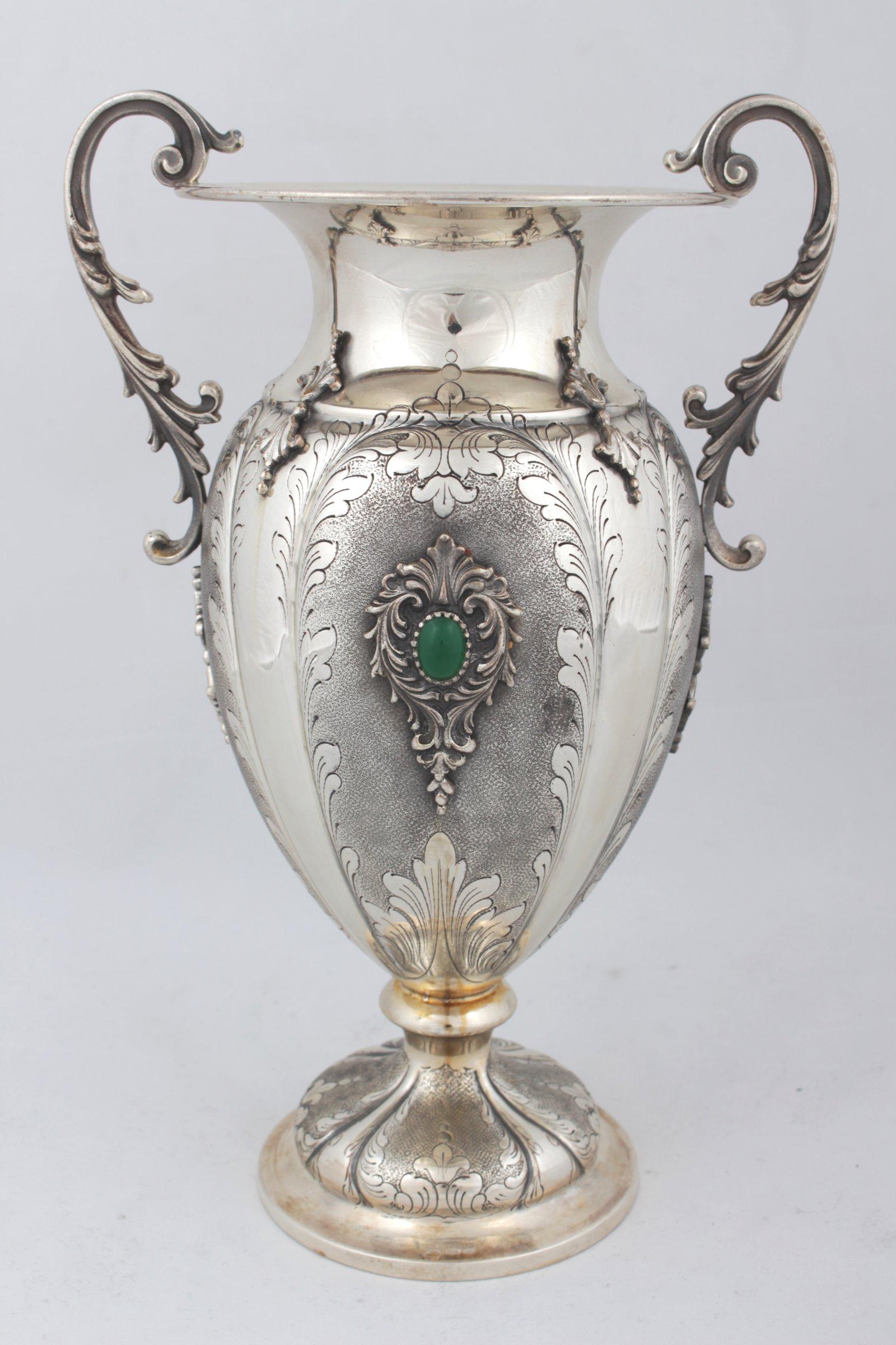 Silver Vase Silver Antiques Gallery Ustar