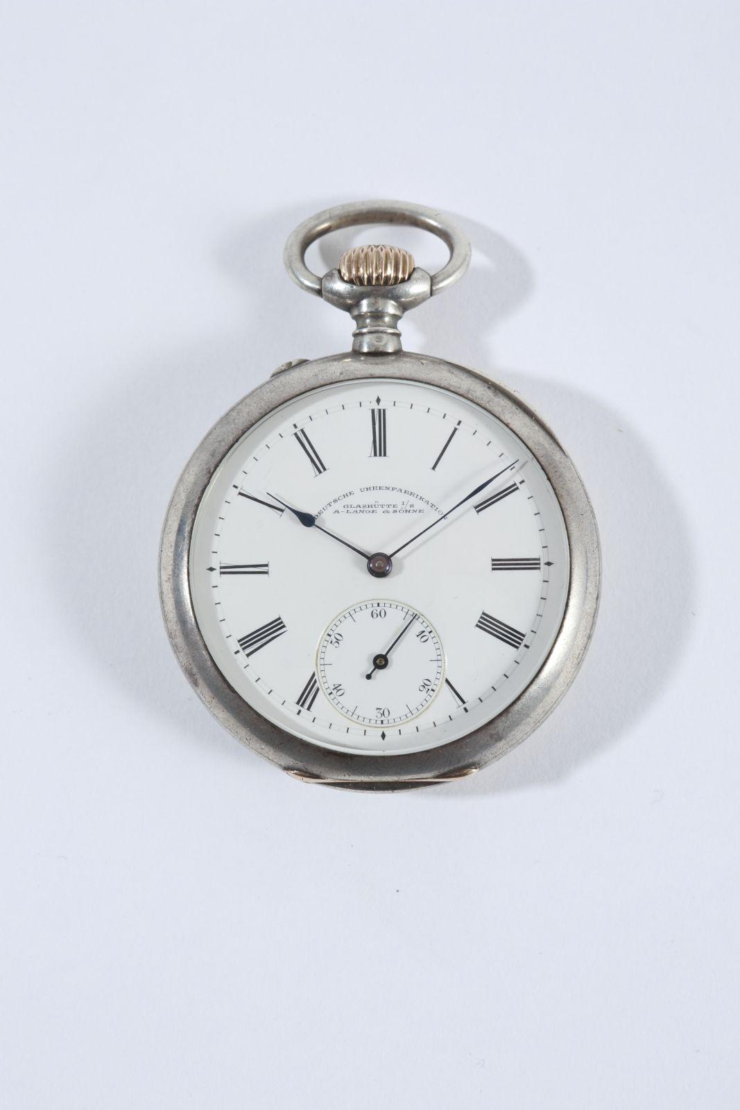 bb63e94a5e1 A. Lange   Söhne - stříbrné kapesní hodinky